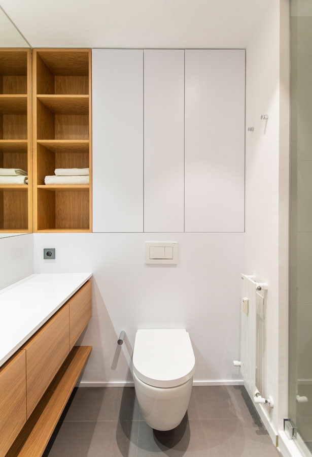 Baño del piso de la calle Ganduxer de Barcelona | The Room Co
