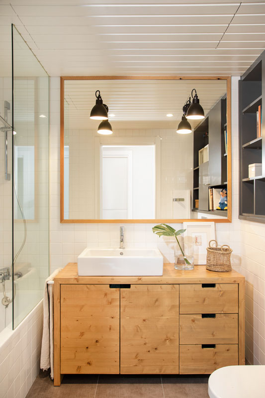 Mueble baño de madera de pino macizo | The Room Co